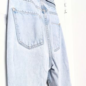 REVICE Light Blue Button fly Boyfriend Jeans, Thick, Quality Fabric, Size 26